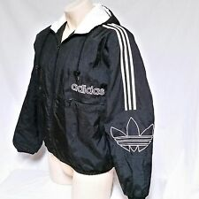 VTG Adidas Coat Trefoil Logo Jacket 90's Puffer Winter Spell Out Olympics Medium