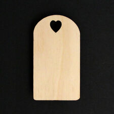 10 Wooden Gift Tags Present Labels Wedding Blanks Favours Decorations