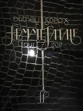Britney Spears ff TourBook- femme fatale edition collection rare, make me, glory