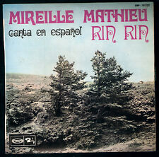 MIREILLE MATHIEU,SUNG SPANISH EP.French 60's Pop.Rin rin,CHRISTMAS SONGS