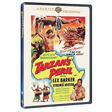 TARZAN'S PERIL (1951 Lex Barker) -  Region Free DVD - Sealed
