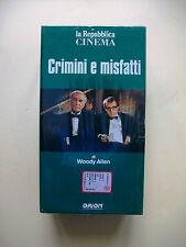 CRIMINI E MISFATTI [La repubblica Cinema - vhs]