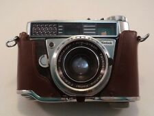 Vintage Kodak Retina Compus 35mm Camera with Case No Strap 45mm Lens Working