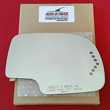 NEW Mirror Glass SILVERADO SIERRA Passenger Right Side HEATED POWER SIGNAL