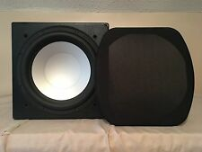 Monitor Audio RSW-12 Powered 500 Watt Digital Subwoofer Silver Series