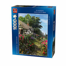 1000 Piece Classic Collection Jigsaw Puzzle Toy - WYSTERIA COUNTRY COTTAGE 05368