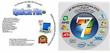 Windows 8/7/XP Boot Repair Recovery Restore CD & AUTOMATIC Drivers - 2016 NEW