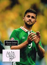 Shane LONG SIGNED Autograph 16x12 Photo Mount AFTAL COA Republic of Ireland