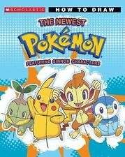 Pokemon: How to Draw the Newest Pokémon by Maria B. Alfano (2008, Paperback)