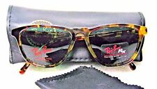 RAY-BAN *NOS VINTAGE B&L TRADITIONAL BLONDE TORTOISE W1593 *NEW SUNGLASSES FRAME