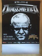 DIRKSCHNEIDER 2016 TOUR - orig.Concert Poster - Konzert Plakat  NEU
