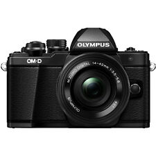 Olympus OM-D E-M10 Mark II Camera with 14-42mm EZ Lens - Black