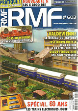 RMF N° 603 DOSSIER WAGONS / VALDEVIENNE RESEAU DU TGV 086 / BB 61008 BB 6767455