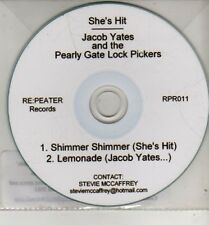 (CJ280) Jacob Yates & The Pearly Gate Lock Pickers / She's Hit, split 2011 DJ CD
