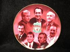 "LIVERPOOL LFC MANAGERS PLATE BILL SHANKLY & MANY MORE FANTASTIC RRP £35 (8"")"