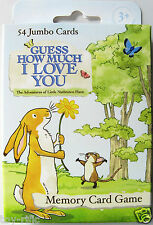 GUESS HOW MUCH I LOVE YOU MEMORY CARD GAME BY PAUL LAMOND - BRAND NEW!