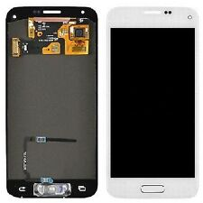 White Home Flex LCD Screen Digitizer Assembly For Samsung Galaxy S5 i9600 G900A