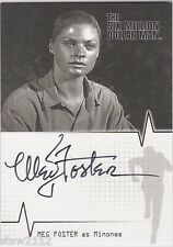 THE COMPLETE SIX MILLION DOLLAR MAN SEASONS 1 & 2 A8 MEG FOSTER AUTOGRAPH