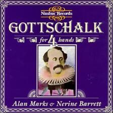 Gottschalk: Piano Music For 4 Hands - Alan Marks & Nerine Barrett (CD, Nimbus)