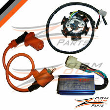 GY6 150 6 Pole Stator Coil CDI Box Ignition Coil 150cc Performance ATV Go Kart
