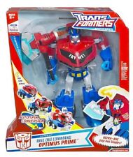 Transformers Animated implementación de supremo comando Optimus Prime Raro Coleccionable..