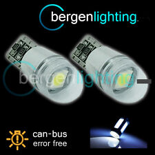 2x W5w T10 501 Canbus Error Free Blanco Domo Led sidelight bombillas Brillante sl103702
