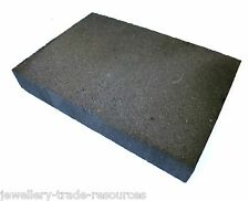 EXTRA LARGE JEWELLERS CHARCOAL SOLDERING BLOCK JEWELLERY MAKING 200mm x 140mm