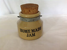 "Small ""Homemade Jam"" Stoneware Crock - Made in England"