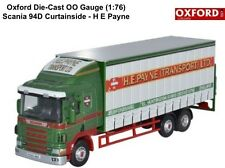 Oxford 76S94002 Scania 94D  Curtainside Rigid H E Payne New 1:76 Scale Offer