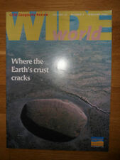Wide World GCSE Geography Review vol 13 no 3, Feb  2002 study guide Philip Allan