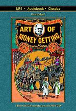 The Art of Money Getting - Unabridged MP3 CD Audiobook in DVD case