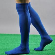 Men Cotton Sport Football Soccer Long Socks Baseball Hockey Over Knee High Socks