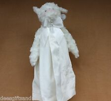 Bearington Bears Baby Blessings Snuggler White Baby Blanket! Sweet!