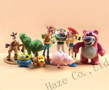 9pcs Toy Story Buzz Lighter Woody Jessie Figures Dinosaur Lotso Dot
