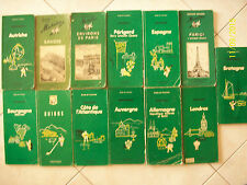 LOTTO 13 GUIDE MICHELIN=ANNI '70/'80 IN FRANCESE= BOURGOGNE+ALLEMAGNE+SUISSE+...