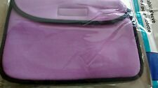 New Lilac Purple Black Tablet Sleeve Fits up to 10 inch Universal Apple Samsung