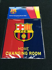 FC Barcelona Home Changing Room Metal Sign