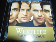 Westlife Face To Face (Australia) CD - Like New