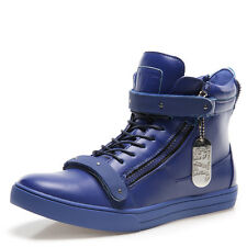 BRAND NEW J75 By JUMP Zion Blue Mens Fashion Casual High Top Shoes SZ US M 10