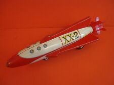 ALL ORIGINAL NOMURA LARGE SPACE ROCKET XX-2 TIN FRICTION MADE IN JAPAN 1960