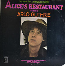 "Alice 's restaurant-Garry sherman 12"" LP (q508)"