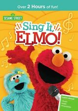Sesame Street: Sing It Elmo 851747004901 (DVD Used Very Good)