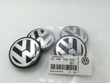 4Pc VW Genuine Wheel center cap hubcap Logo For Golf Jetta Beetle 56mm