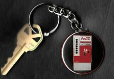 Coca-Cola Machine COKE Keychain Key Chain 1960's
