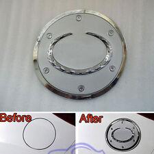 1Pc Chrome Car Exterior Fuel Gas Oil Tank Cap Trim Cover Fit For Cx-5 2012-2014