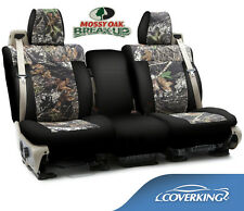 NEW Mossy Oak Break-Up Camo Camouflage Seat Covers with Black Sides / 5102001-35