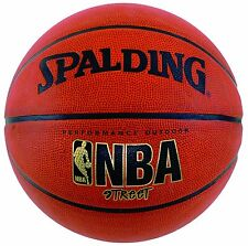 "Spalding NBA Street Basketball Intermediate Size, 28.5"", New, Free Shipping"