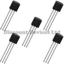 5x MPSA18 NPN Small Signal General Purpose Amplifier Transistor