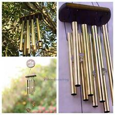 AMAZING DEEP RESONANT Antique Chapel TUBES BELLS Wind Chimes RELAXING WINDCHIME