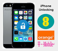 iPhone 4S 5 5C 5S SE & 6 6S Factory Unlocking Service For EE UK Network
